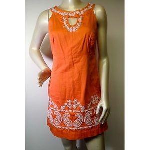 Lilly Pulitzer paisley sheath dress sz 6